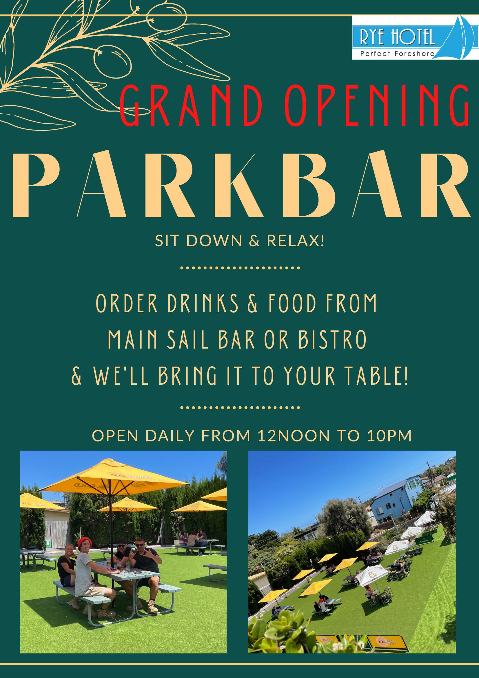 A4 Poster - Park Bar