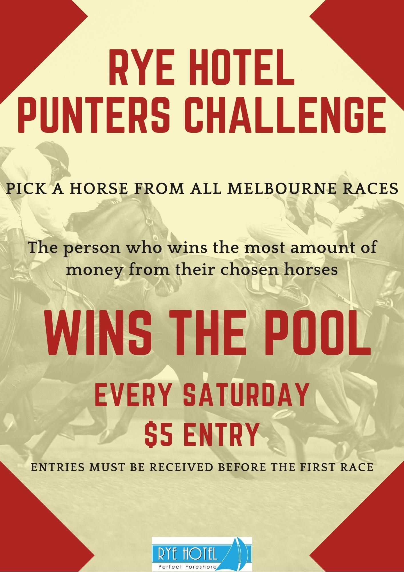 Punters Challenge Poster - Feb 21